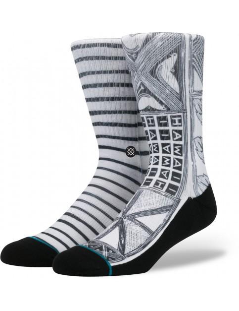 Stance Via Lopez Socks in White