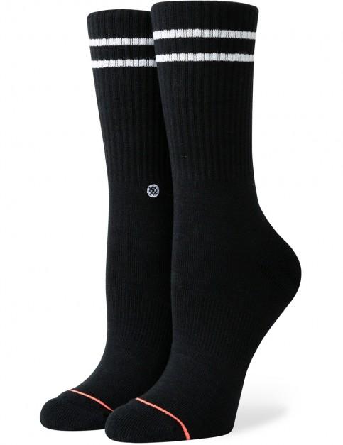 Stance Vitality Crew Socks in Black