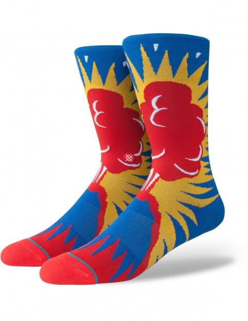 Stance Volcano Crew Socks in Multi