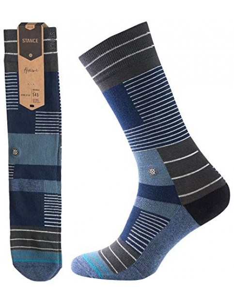 Stance Wanderer Crew Socks in Navy