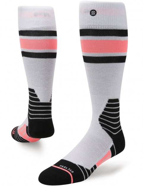Stance Waterfall Crew Socks in Grey