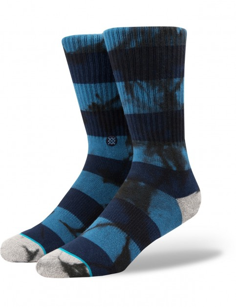 Stance Wells Crew Socks in Blue