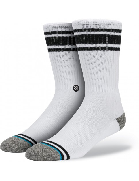Black Stance White Out Socks