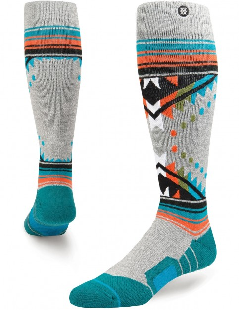 Stance Whitmore Snow Socks in Grey Heather