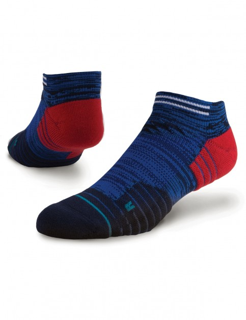 Stance Wilde No Show Socks in Blue