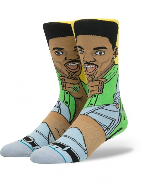 Stance Will Crew Socks in Yellow