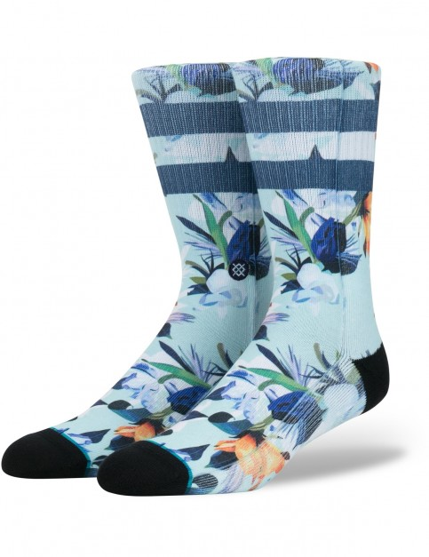 Stance Wipeout Crew Socks in Blue