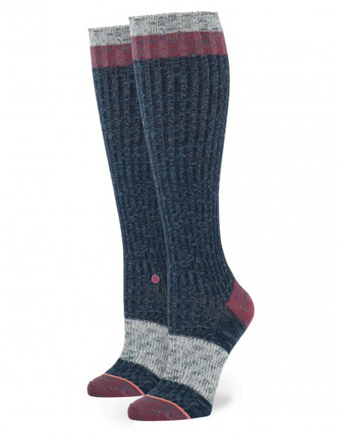 Stance Wolfie Socks in Navy