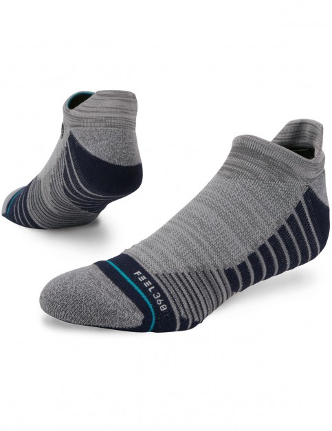 Stance Workforce Tab No Show Socks in Grey