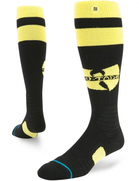 Stance Wu Tang Wool Snow Socks in Black