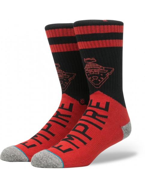 Stance Star Wars Varsity Empire Socks in Red