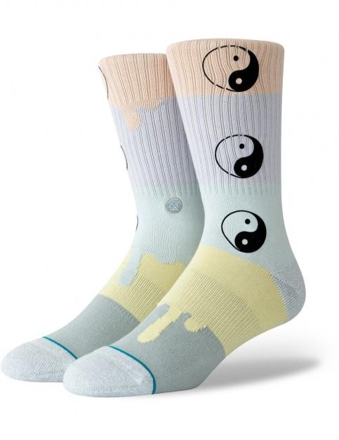 Stance Yin To My Yang Crew Socks in Multi