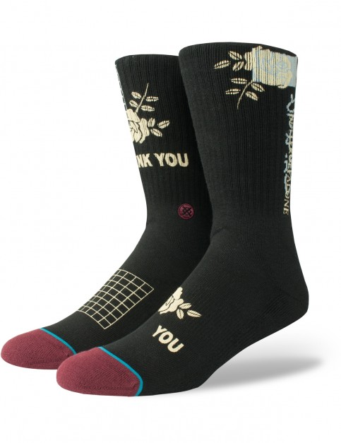 Stance You Crew Socks in Black