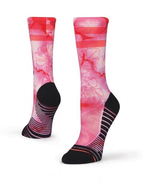 Stance Zanzibar Crew Socks in Pink