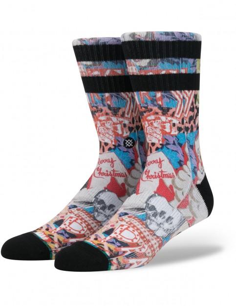 Stance Zombie Xmas Crew Socks in Multi