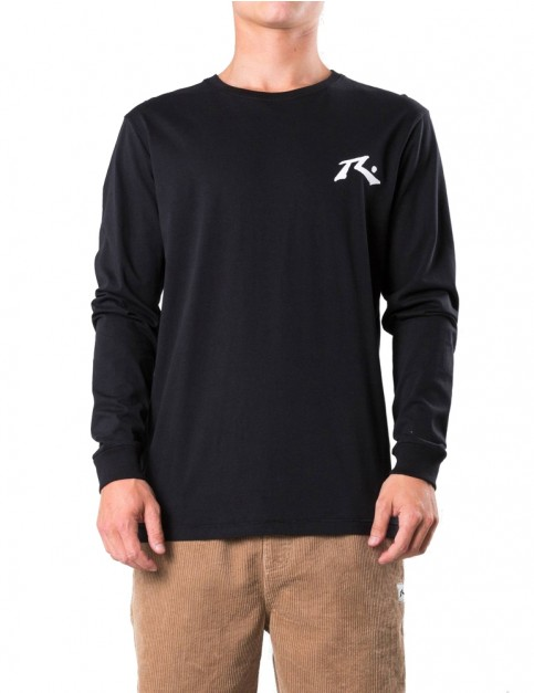 Rusty Competition Long Sleeve T-Shirt in Black