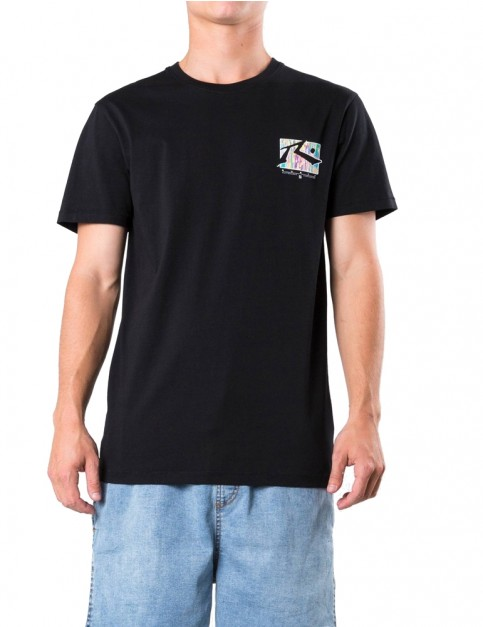 Rusty TV Screen 7 Short Sleeve T-Shirt in Black