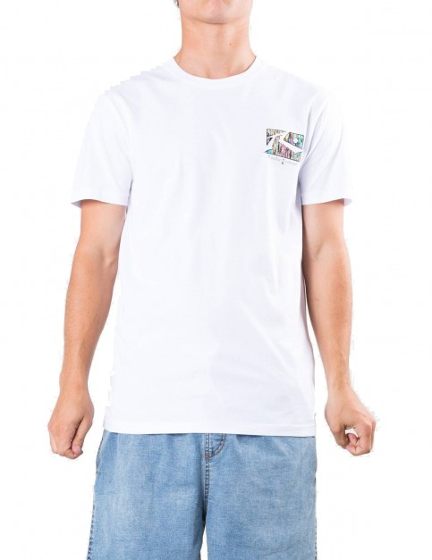 Rusty TV Screen 7 Short Sleeve T-Shirt in White