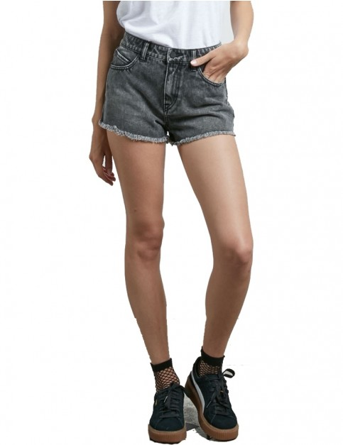 Volcom 1991 Denim Shorts in Smoke