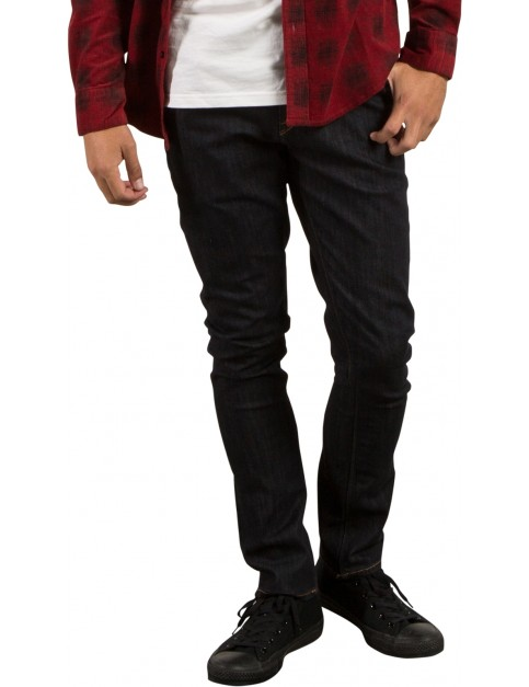 Volcom 2X4 Denim Straight Fit Jeans in Rinse