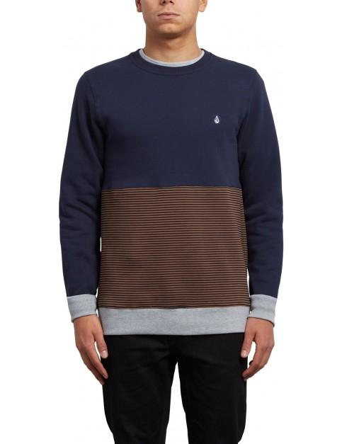 Volcom 3ZY Crew Sweatshirt in Hazelnut