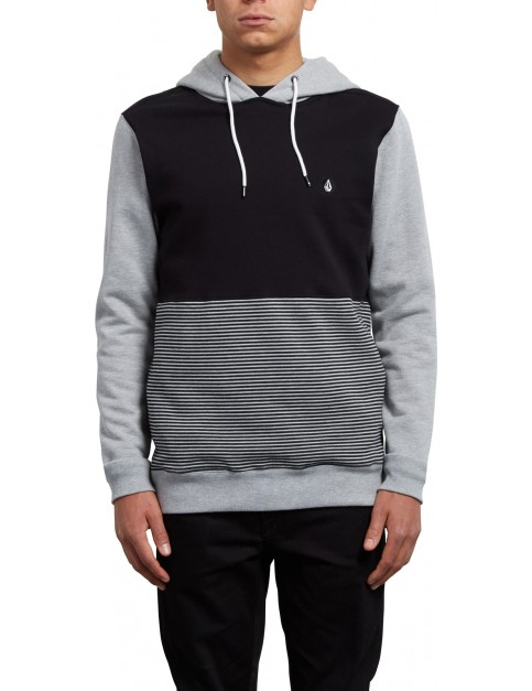 Volcom 3ZY Pullover Hoody in Heather Grey