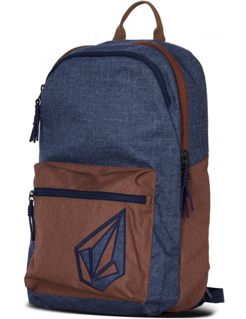 Volcom Academy Backpack in Camper Blue
