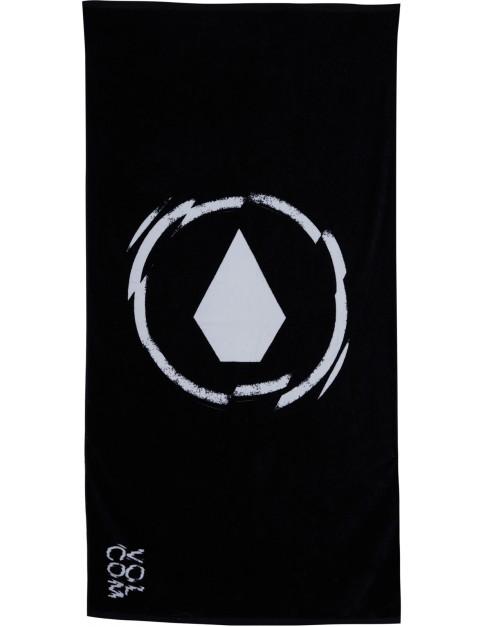 Volcom Adopt A Beach Towel in Black