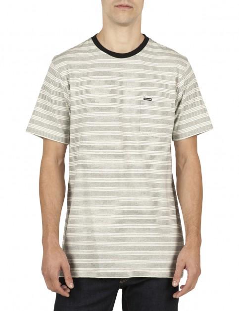 Volcom Alden Short Sleeve T-Shirt in Egg White