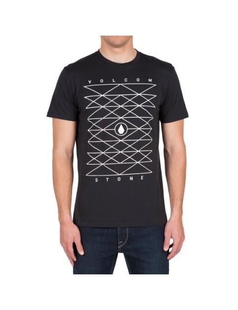 Volcom Angle Short Sleeve T-Shirt in Black