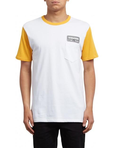 Volcom Angular Short Sleeve T-Shirt in Tangerine