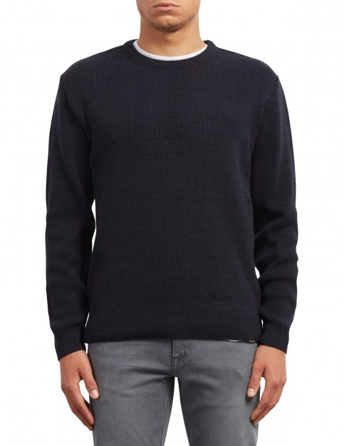 Volcom Baltimore Sweater Jumper in Navy