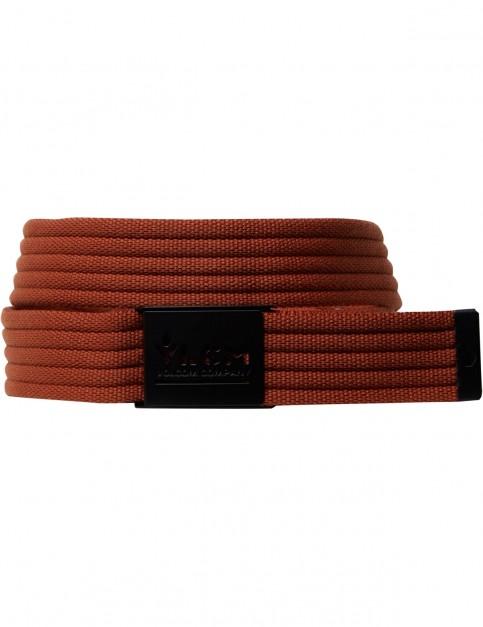 Volcom Banzai Webbing Belt in Hazelnut
