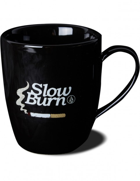 Volcom Bartz Coffee Mug Fun Stuff in Black