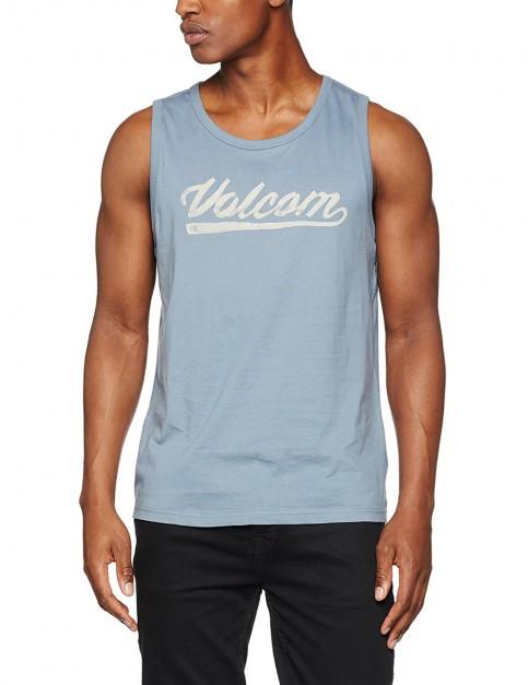 Volcom Basecoat Sleeveless T-Shirt in Ash Blue
