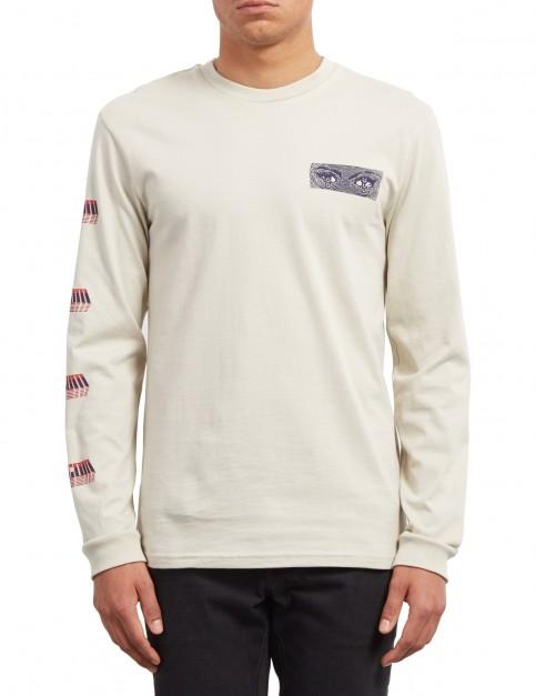 Volcom Black Hole Long Sleeve T-Shirt in Clay