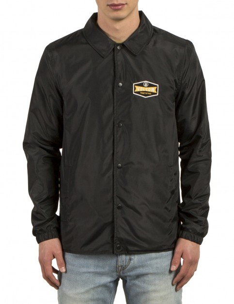 Volcom Brews Coach Jacket in Black