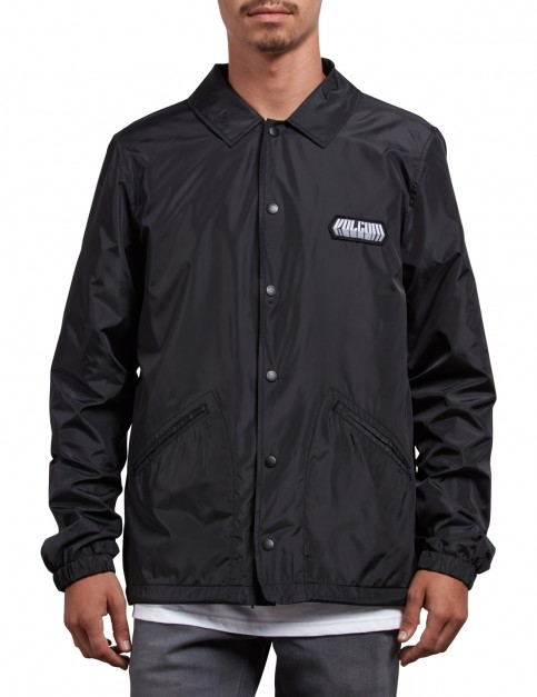 Volcom Brews Softshell Jacket in Black