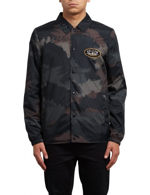 Volcom Brews Coach Jacket in Camouflage