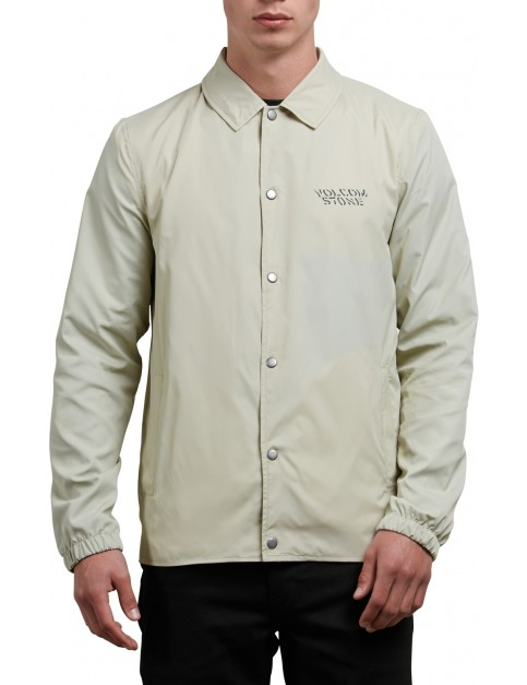 Volcom Brews Coach Jacket in Clay