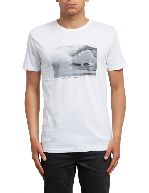 Volcom Burch Fom Short Sleeve T-Shirt in White