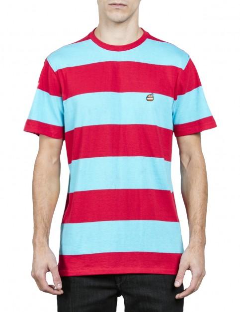 Volcom Burger X Vlcm Short Sleeve T-Shirt in Dusty Aqua