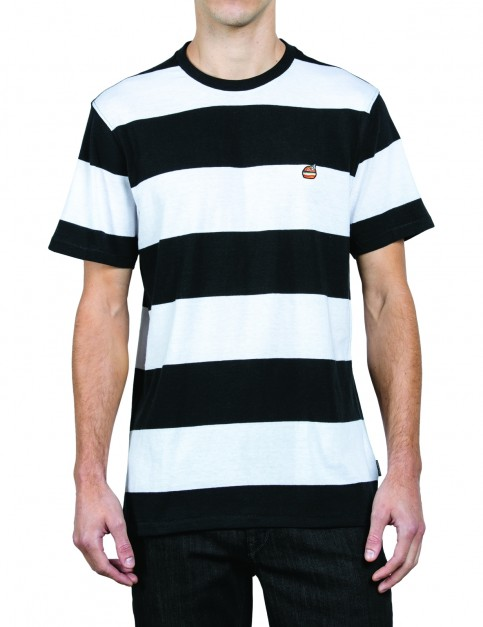 Volcom Burger X Vlcm Short Sleeve T-Shirt in White