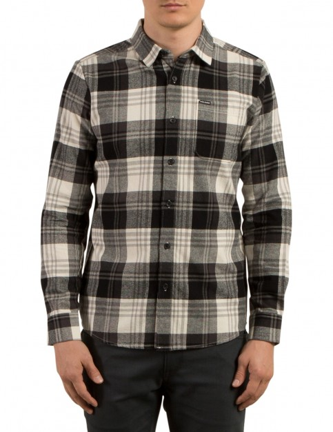 Volcom Caden Long Sleeve Shirt in Cloud