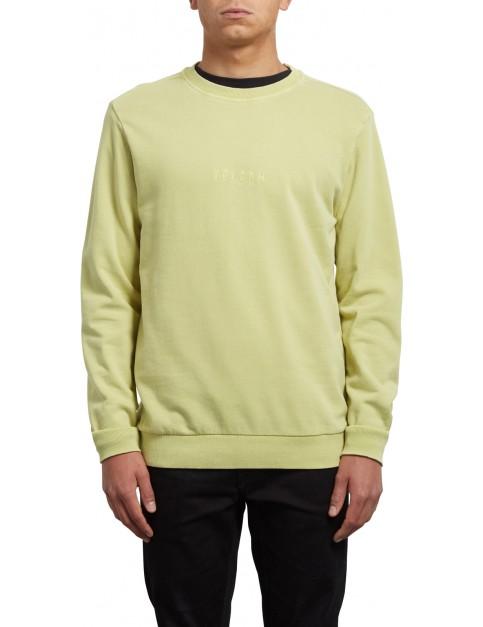 Volcom Case Crew Sweatshirt in Shadow Lime