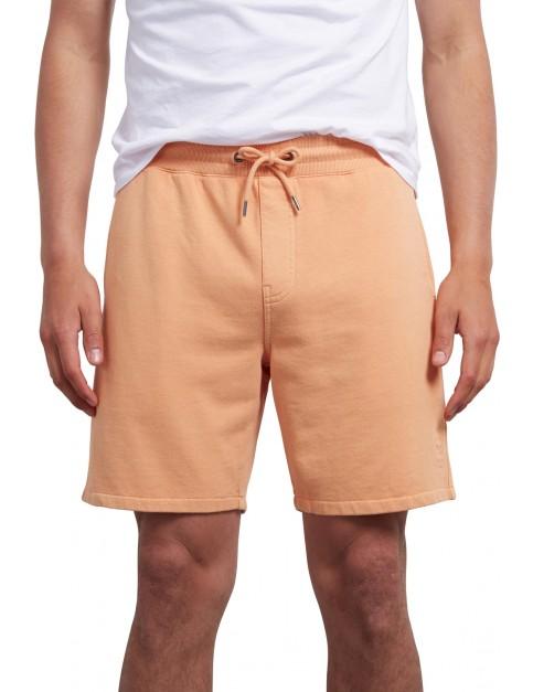 Volcom Case Fleece Short Shorts in Summer Orange