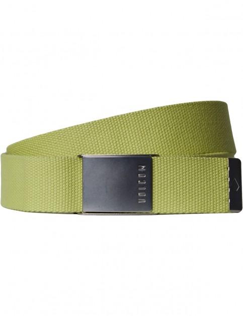 Volcom Case Webbing Belt in Shadow Lime