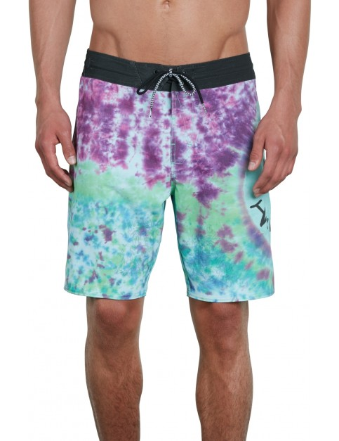 Volcom Chill Out Stoney Mid Length Boardshorts in Multi