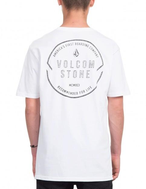 Volcom Chop Around Short Sleeve T-Shirt in White