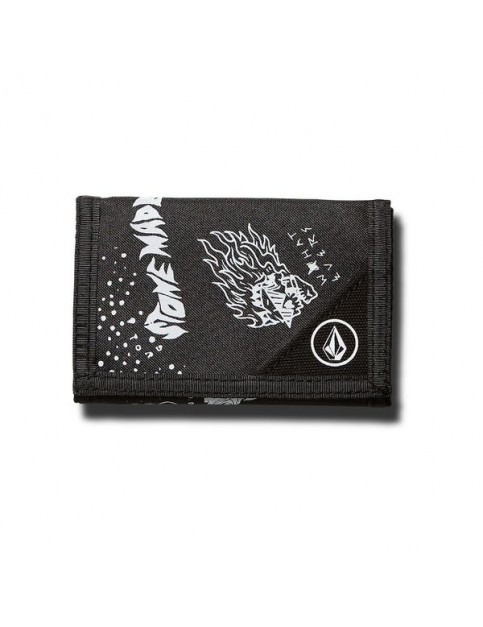 Volcom Circle Stone Polyester Wallet in Pewter